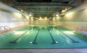 The swimming pool at or near Hotel Ballard