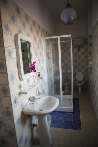 A bathroom at Casa Mansi