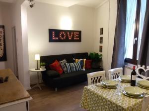 Zona de estar de Appartamento Zeno