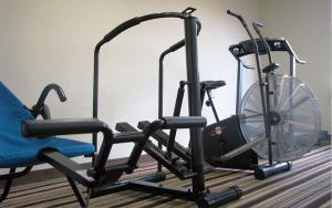 Gimnasio o instalaciones de fitness de Hotel Alameda Express