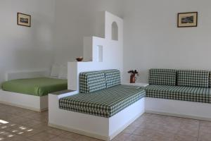 A seating area at Eleonas Apartments