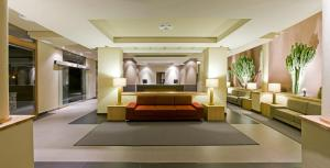 De lobby of receptie bij Hotel Playa Calera