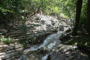 Paesaggio naturale nelle vicinanze dell'ostello