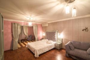 Cama o camas de una habitación en Delphi Art Hotel
