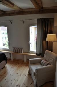 A seating area at Der Speicher