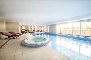 The swimming pool at or near Fonab Castle Hotel