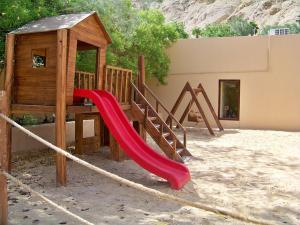 Children's play area at Ma'in Hot Springs