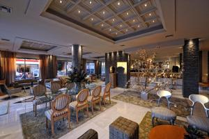 A restaurant or other place to eat at Hotel Haikos