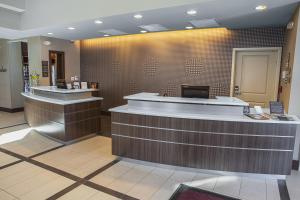 The lobby or reception area at Residence Inn by Marriott Decatur Forsyth