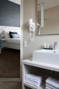 Salle de bains dans l'établissement Hotel Zeerust Texel
