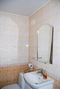 A bathroom at Motel Akva