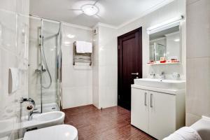 Ванна кімната в Bratislava Hotel Kyiv