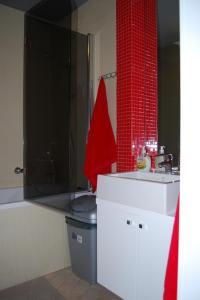Łazienka w obiekcie Apartamenty Słoneczna Skarpa