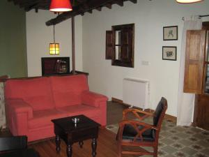 A seating area at La Serranilla