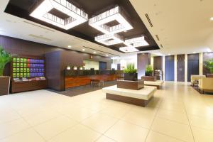 The lobby or reception area at HOTEL MYSTAYS Ochanomizu Conference Center
