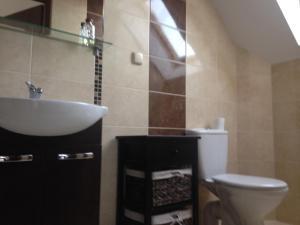 Łazienka w obiekcie Dom Letni Kopalino