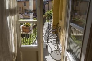 A balcony or terrace at Relais I Miracoli Residenza D'Epoca