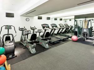 Fitnesscentret og/eller fitnessfaciliteterne på Bryant Park Hotel