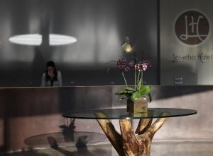 Hall o reception di Leivatho Hotel