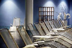 The fitness center and/or fitness facilities at centrovital SPA & Sports Hotel