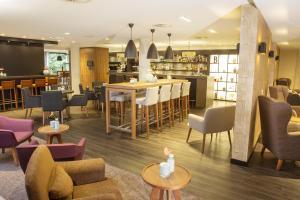 The lounge or bar area at Hotel De Bilderberg