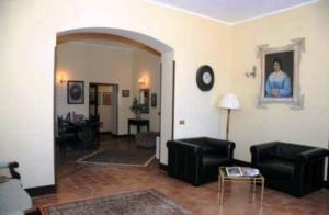 Area soggiorno di B&B Palazzo Pancaro