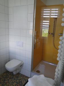 Ванная комната в Pension Villa am Burgberg