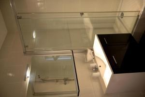 Salle de bains dans l'établissement La Maison d'Hotes de Saint Leger