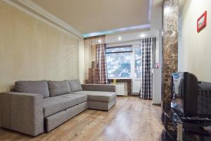Гостиная зона в RentalSPb Family Apartment