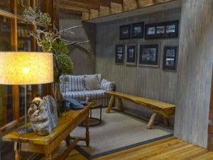 Zona de estar de Puyuhuapi Lodge & Spa
