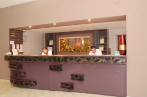 Lobby/Rezeption in der Unterkunft Hotel 2D Resort and Spa