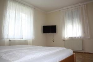 Кровать или кровати в номере Villa Sonnenschein