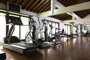 The fitness center and/or fitness facilities at The Fortress Resort & Spa