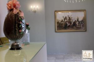 Hall o reception di Hotel La Casa Del Pellegrino
