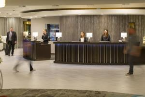The lobby or reception area at The Madison Concourse Hotel