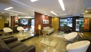 O lounge ou bar de Hotel Rondônia Palace