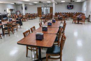A restaurant or other place to eat at Cuero Oilfield Housing