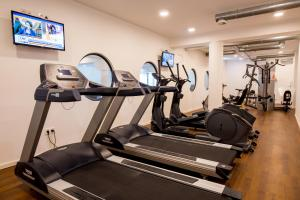 The fitness center and/or fitness facilities at Carat Residenz-Apartmenthaus