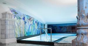 The swimming pool at or near Dorfhotel Beludei
