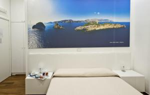 A bed or beds in a room at Il Reticolo