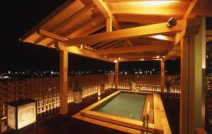 The swimming pool at or near Jyoseikan