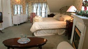 A bed or beds in a room at Bedham Hall B&B