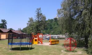 Herní místnost nebo prostor pro děti v ubytování Sportcentrum Dvořák