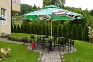 Ogród w obiekcie Pensjonat Beata