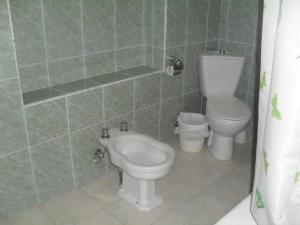 Een badkamer bij Escandinavia