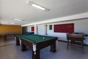A pool table at Colonna Galapagos Boutique Hotel