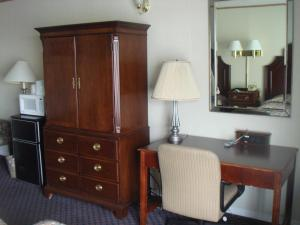 A television and/or entertainment center at Harbor Base Inn