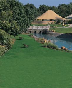 A bird's-eye view of The Oberoi Vanyavilas Wildlife Resort, Ranthambhore