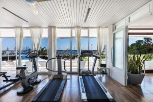 The fitness center and/or fitness facilities at Abitare in Vacanza