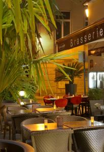 Restaurant ou autre lieu de restauration dans l'établissement Hotel Reine Mathilde